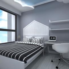 女兒房床頭牆